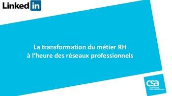 Comment les RH utilisent-ils LinkedIn ? - D.R.