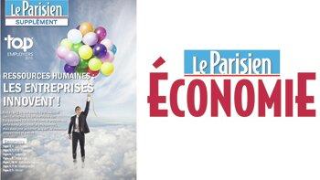 Cahier spécial Top Employers 2015 - La Parisien - Aujourd'hui en France Économie - D.R.