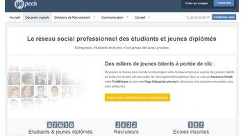 Yupeek, le réseau social des jeunes diplômés, souffle sa 2e bougie - D.R.