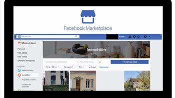 Facebook lance enfin sa Marketplace en France - D.R.