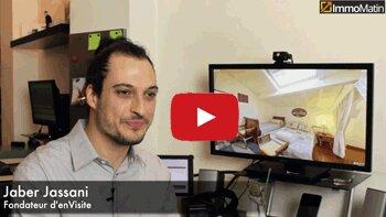 3 min avec Jaber Jassani, fondateur d'enVisite - D.R.