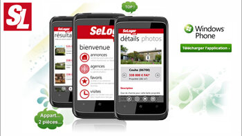 SeLoger continue à investir dans son application sur Windows Phone - D.R.
