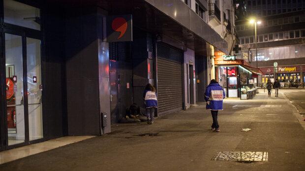 Maraude de bénévoles - © Samu social de Paris