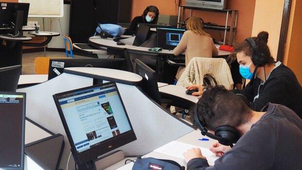 Des étudiants en informatique de l'Université Bretagne Sud. - © CPU et Université Bretagne Sud