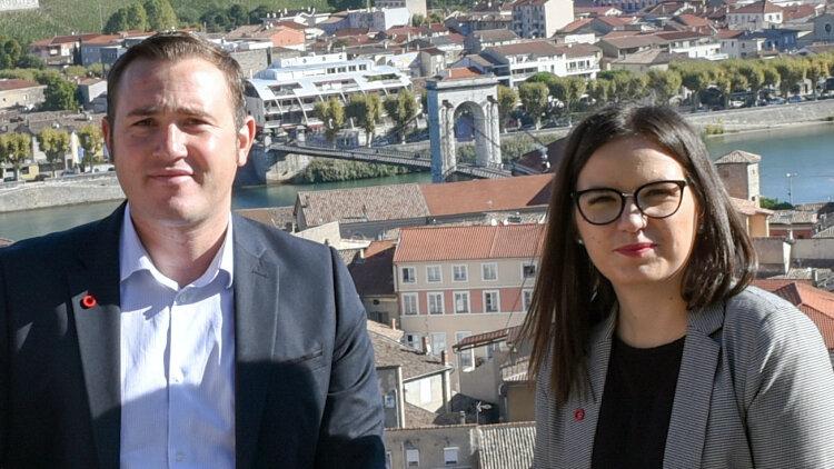 M. et Mme Leuillier, franchisés Orpi - Dr