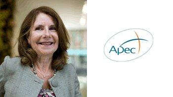 Trophées Apec de l'Egalité Femme-Homme: «Un levier RH de motivation des salariés» Marie-Françoise Leflon, Vice-Présidente de l'APEC - D.R.