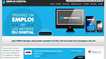 EmploiDigital.com: un nouveau né parmi les sites d'emploi spécialisés - D.R.