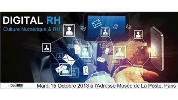 Agenda: 2e édition du colloque Digital RH le 15 octobre 2013 - D.R.