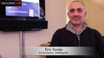 3 min avec Eric Tondo, co-fondateur de LittleBigJob - D.R.