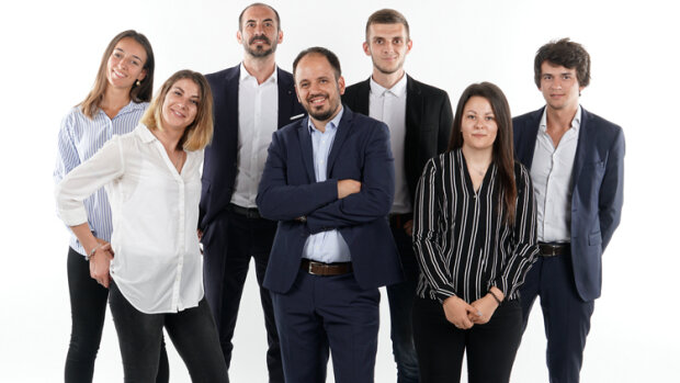 L'équipe d'Econhomes, en juillet 2019