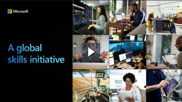 Global Skills Initiative: Microsoft parie sur la montée en compétences numériques - © D.R.