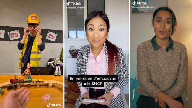 La SNCF a organisé une campagne TikTok avec la participation d'influenceurs. - © D.R.