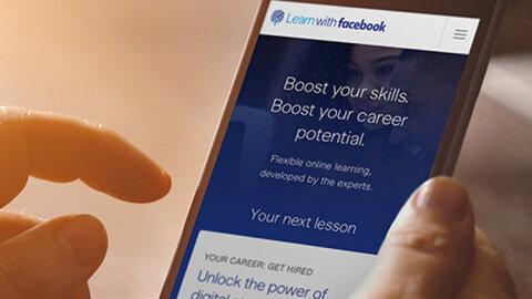 Facebook lance sa plateforme de formation professionnelle - D.R.