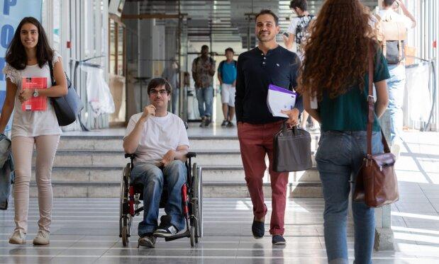1,69% de la population étudiante est en situation de handicap à la rentrée 2019. - © Université de Bordeaux - CPU