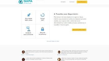 Qapa compte plus que tripler son chiffre d'affaires en 2018 - D.R.