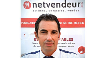 «Nous facturons 20 euros chaque lead apporté aux professionnels», Julien Deloume, Netvendeur - © D.R.
