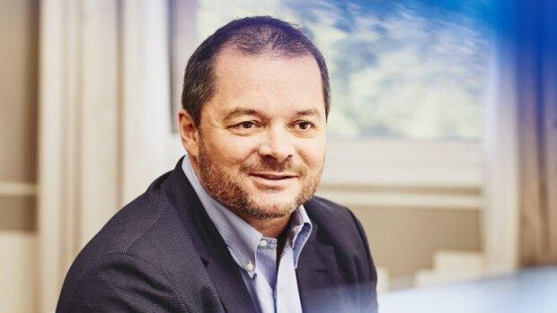 Frank Ribuot, Président du groupe Randstad France, présente Randstad Direct Workforce. - © Valery Kloubert