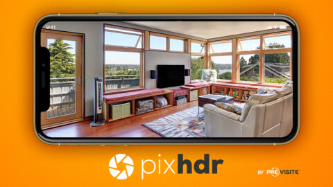 Avec son application mobile, Previsite démocratise la photo HDR - D.R.