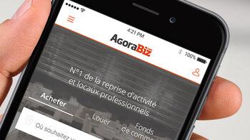 AgoraBiz s'offre une nouvelle version de son appli mobile - D.R.