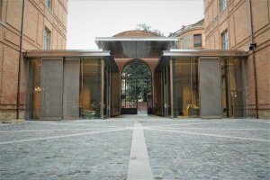 L'entrée du musée Ingres-Bourdelle