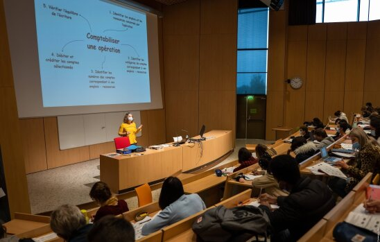 65% des répondants sont satisfaits de l'accompagnement de leur employeur pendant la crise. - © Conférence des présidents d'université - Université Bretagne Sud