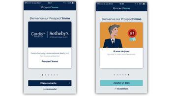 Prospect'Immo: l'app qui échange informations immobilières contre commission - © D.R.