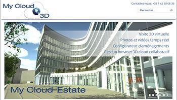 My Cloud Estate: des visites virtuelles en mode cloud - © D.R.