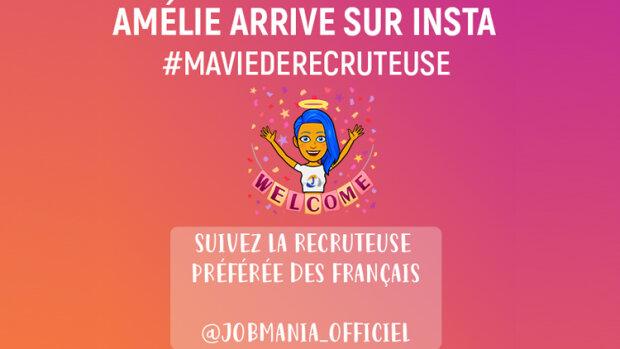 Instagram, le nouveau canal de recrutement de Jobmania