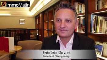 3 min avec Frédéric Daviet, Président de Webgenery - D.R.