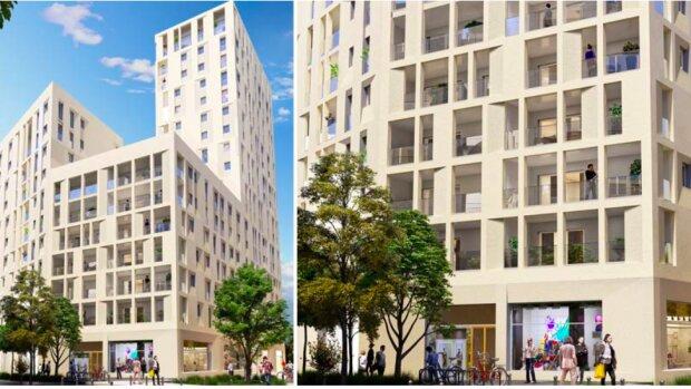 Le programme comprend près de 800 logements - © D.R.