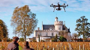 Les drones: bientôt incontournables dans l'immobilier? - D.R.
