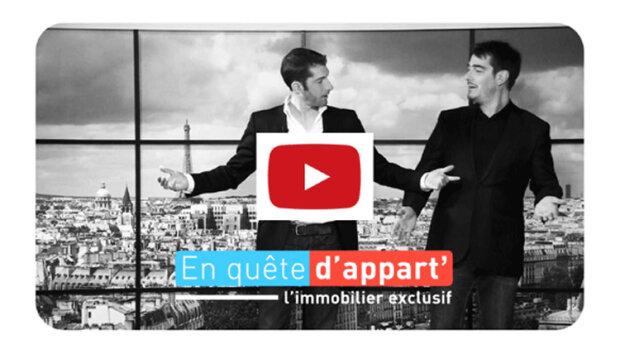 «En quête d'appart», l'émission TV qui donne vie aux annonces immobilières - © D.R.