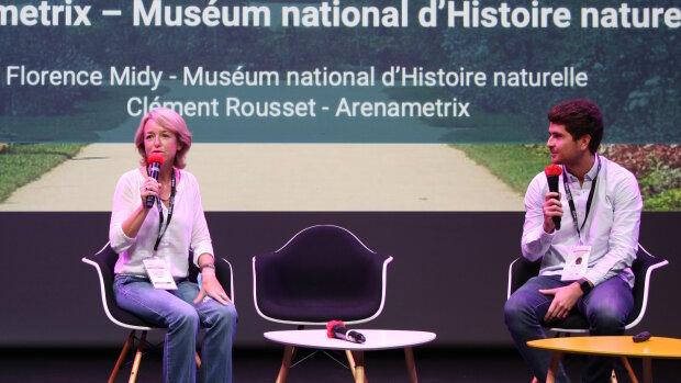 «1 entreprise / 1 startup» à Think Culture 2020: Arenametrix au Muséum national d'histoire naturelle