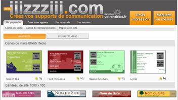 Iiizzziii.com : un site pour créer ses supports de communication - D.R.