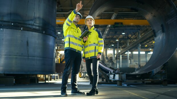 Cubiks PSI: la sécurité dans le secteur de l'industrie - © Gorodenkoff/Shutterstock.com