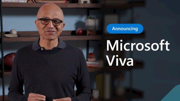 Satya Nadella, CEO de Microsoft, dévoile Microsoft Viva - © D.R.
