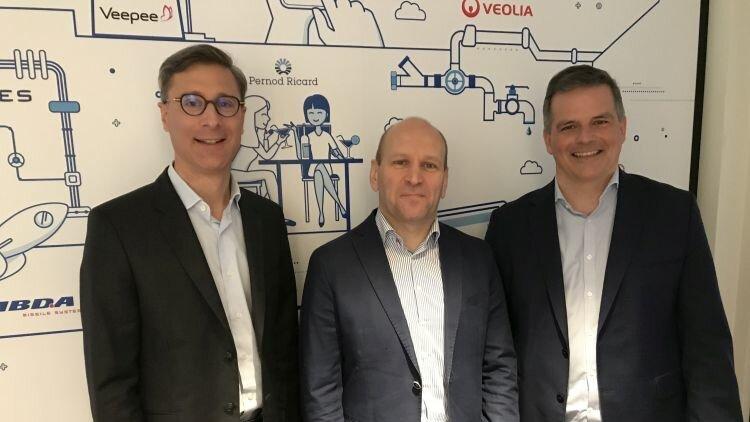 Equipe Workday: Jérôme Froment-Curtil, Pierre Gousset et François Cadillon - D.R.