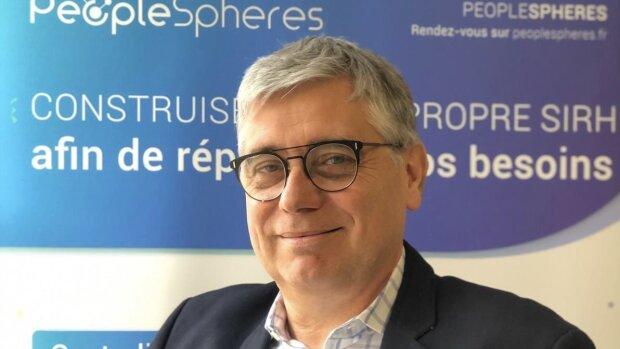 Philippe Bloquet, CEO de PeopleSpheres: un élan PaaS & RH avec sa levée de 8,5 millions d'euros - © D.R.