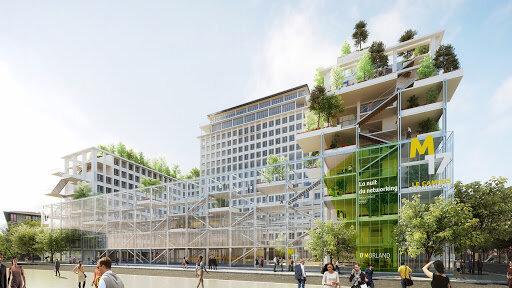 «Réinventer Paris», ou l'art de transformer les bureaux en logements - © D.R.
