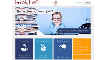 """""""Environ 1000 candidats s'inscrivent chaque jour sur KeeWork"""", Thierry Andrieux, KeeWork - D.R."""