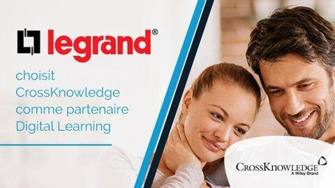 Digital learning: Legrand choisit CrossKnowledge  - DR