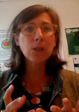 Agathe Euzen, directrice adjointe de l'IEE du CNRS