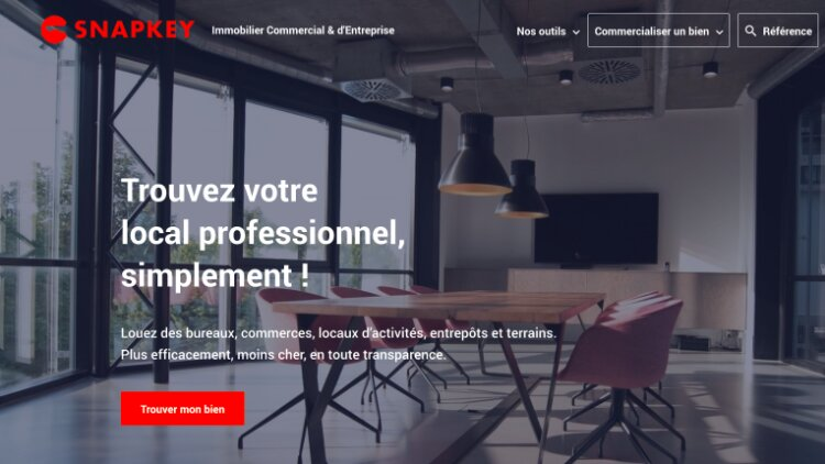 Immobilier commercial et professionnel: Snapkey veut transformer l'expérience de la transaction - DR