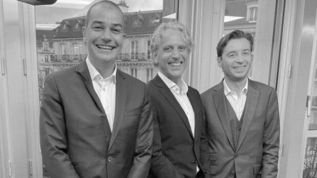HR Path et Magnulteam unissent leurs forces: François Boulet, Christophe Vicari et Cyril Courtin - © D.R.