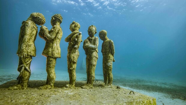 Les «Néréides», sculptures d'Evelyne Galinski. - © G.Ruoppolo/ Wallis.fr / MSM