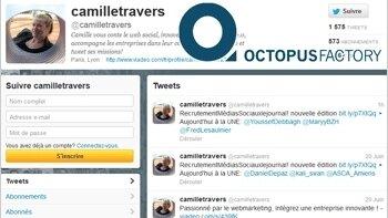 Mes 10 tweets RH de janvier, par Camille Travers - D.R.
