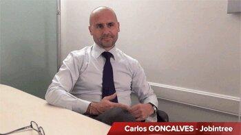 4 min 30 avec Carlos Goncalves, co-fondateur de Jobintree - D.R.
