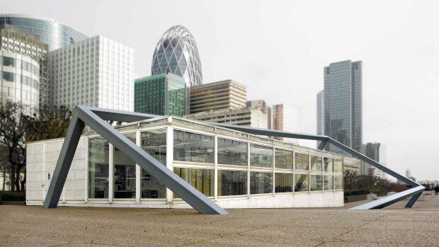 Le bâtiment du CNAP à Puteaux. - © Yves Chenot
