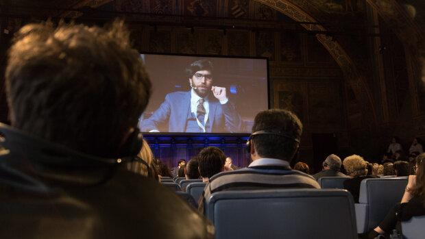 Chercheur en exil, Omar Mohammed donne des conférences au Royaume-Uni, aux Etats-Unis, en Russie… - © Riccardo Gregori