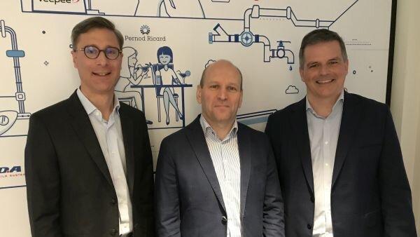 Trio de managers Workday: Jérôme Froment-Curtil, Pierre Gousset et François Cadillon - © D.R.